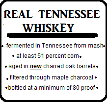 Quality Tennessee Whiskey