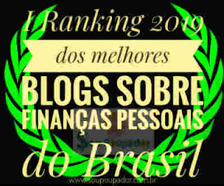 Ranking dos Melhores Blogs - Finanças Pessoais do Brasil