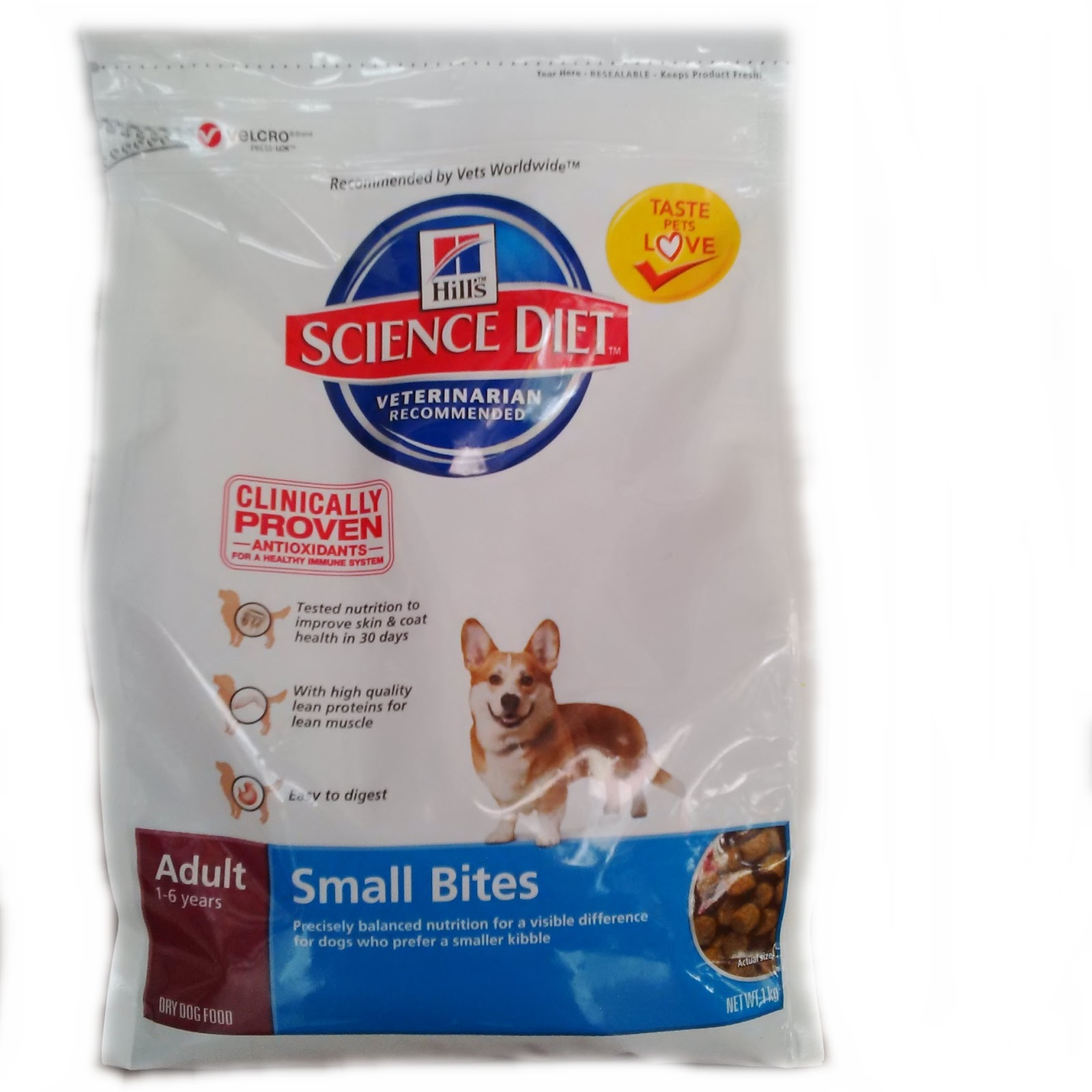 Science Diet Puppy Lamb Small Bites (Dog Food) Makanan Anjing