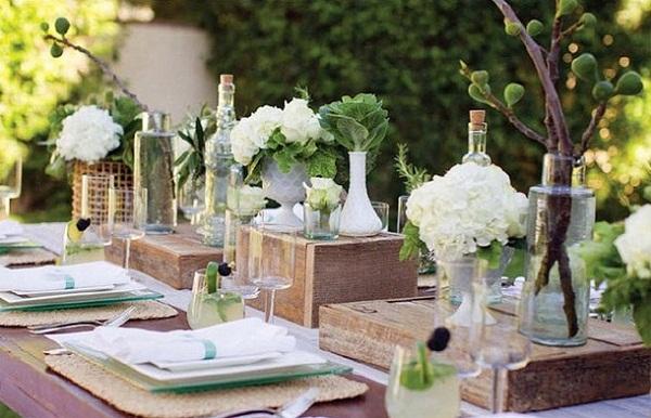 mesa encantadoramente elegante