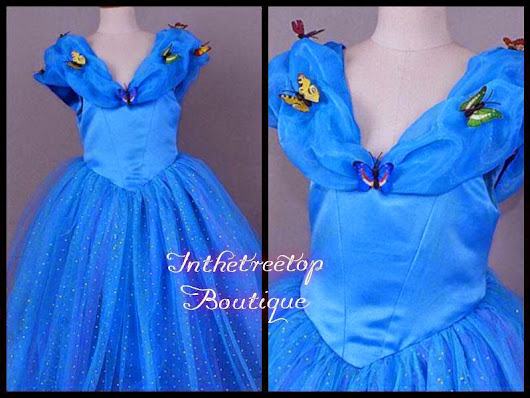 Forty Toes: Win a Cinderella Dress from In The Tree Top Boutique!