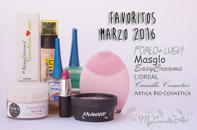 Favoritos de Marzo de 2016