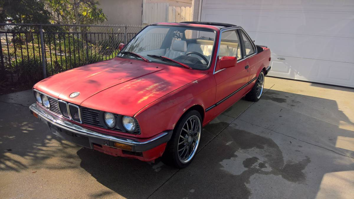 small resolution of rare 1986 e30 bmw 325e baur tc2 5spd 2 7ltr inline 6 it was built for the european market by baur coach builders in germany it s a grey market vehicle