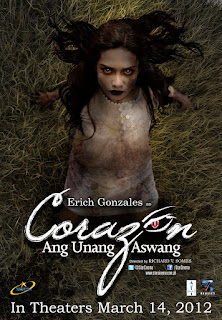 Corazon: Ang Unang Aswang, or simply Corazon, is a 2012 Filipino psychological thriller film starring Erich Gonzales and Derek Ramsay.