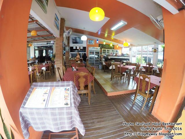 Hasna Seafood Halal Restaurant @ 5D4N Krabi Trip 2016