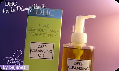 Huile Démaquillante : Deep Cleansing Oil de DHC