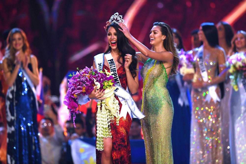 La filipina Catriona Gray se llevó la corona de Miss Universo 2018