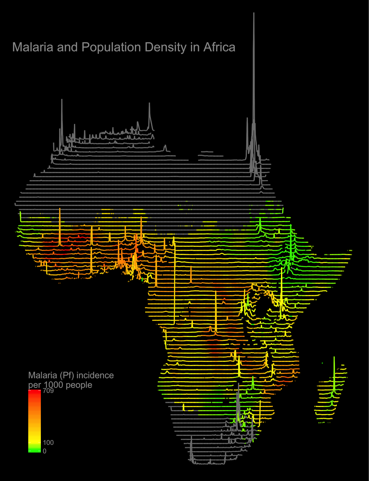 Malaria & Population Density in Africa