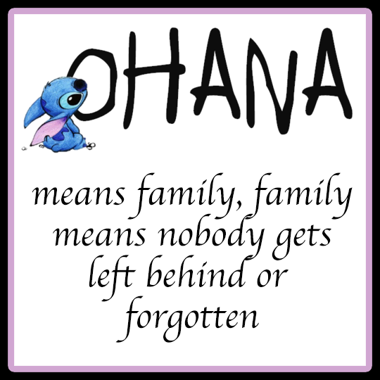 NOBODY GETS LEFT BEHIND  Ohana