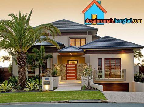 Desain Fasad Rumah Dengan Ide Yang Modern Desain Rumah Minimalis Moderen