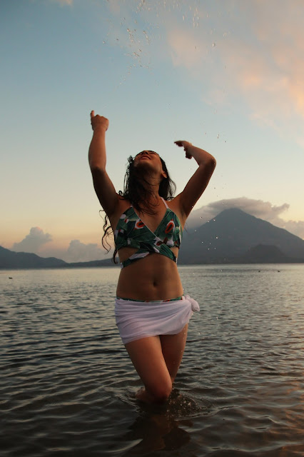 latina fashion blogger sustainable swimwear