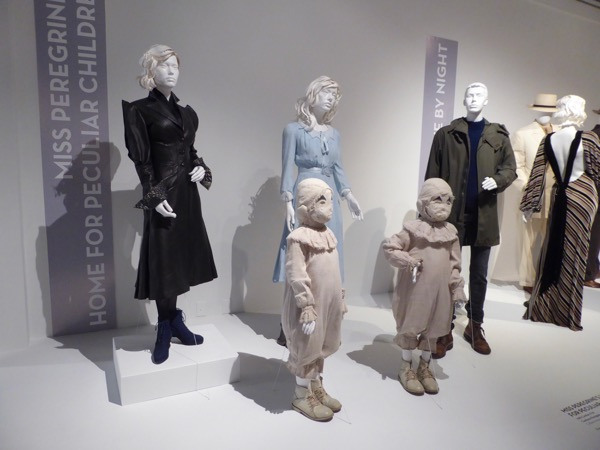 Miss Peregrines Home Peculiar Children costume exhibit