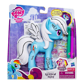 MLP Design-a-Pony Rainbow Dash Brushable Pony