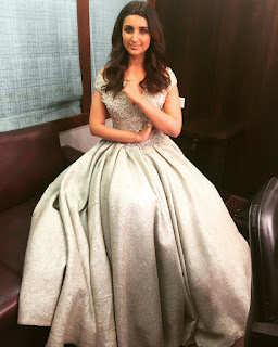 Parineeti Chopra looks lovely in a Maneka Harisinghani gown at Zee Cine Awards 2016