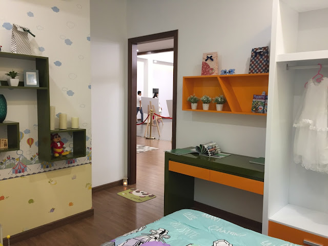 Phòng ngủ dành cho bé nhỏ xinh