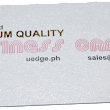 FOIL STAMPING: Put a premium on your business cards