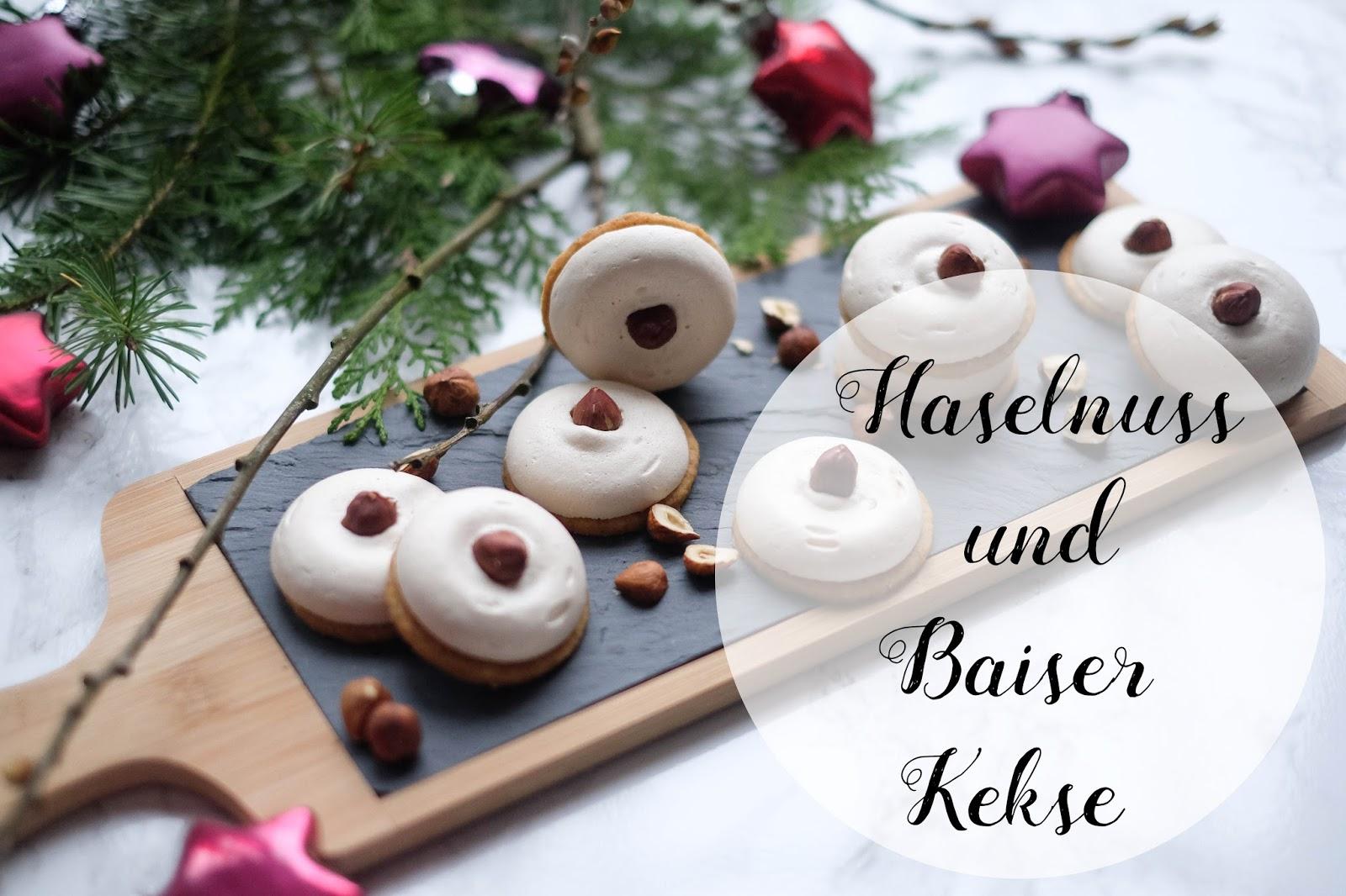 Haselnuss Und Baiser Kekse Marion S Kaffeeklatsch