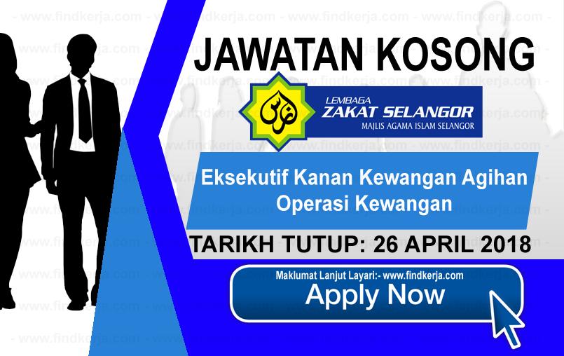 Jawatan Kerja Kosong MAIS - Lembaga Zakat Selangor logo www.findkerja.com april 2018