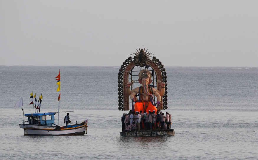 Ganesha Chaturthi Festival Celebration In India