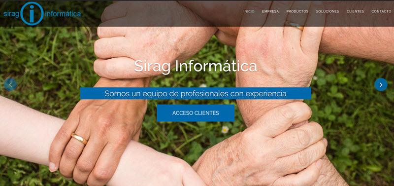 Principal web sirag informatica