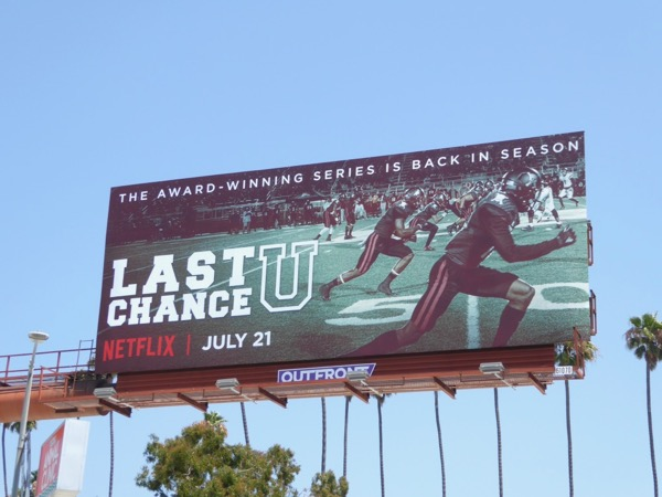 Last Chance U season 2 billboard