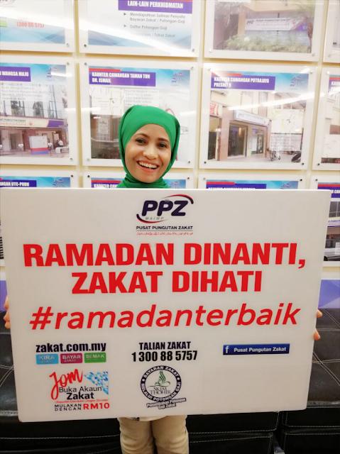 Ramadan Dinanti, Zakat Di Hati