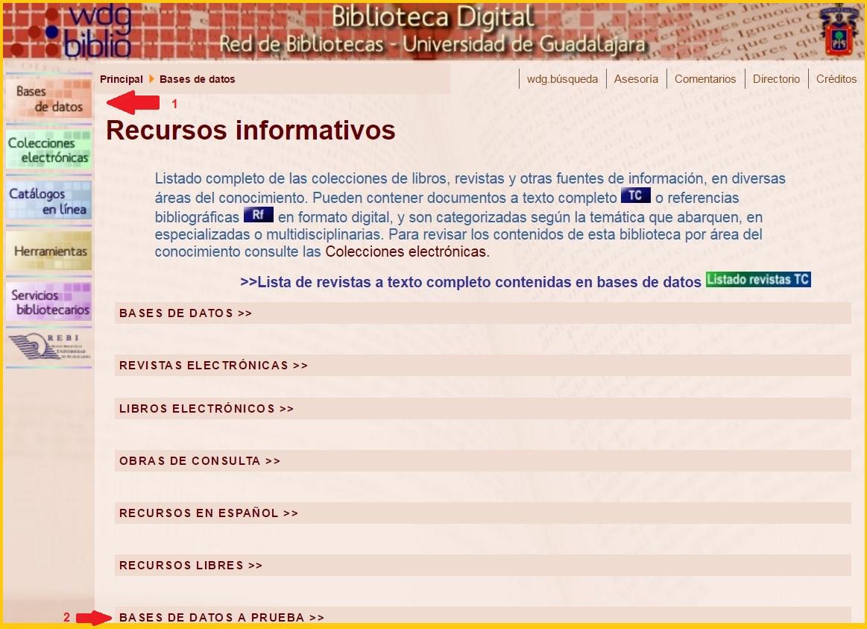 Centro de Documentación y Sistemas de Información