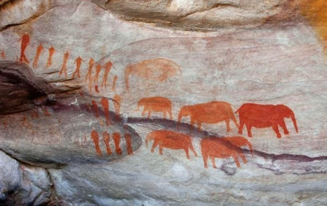 Earliest dated rock art in Southern Africa depicts shamans' journey to the world of the spirits