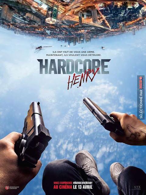 L' Affiche officielle du film en FPS Hardcore Henry