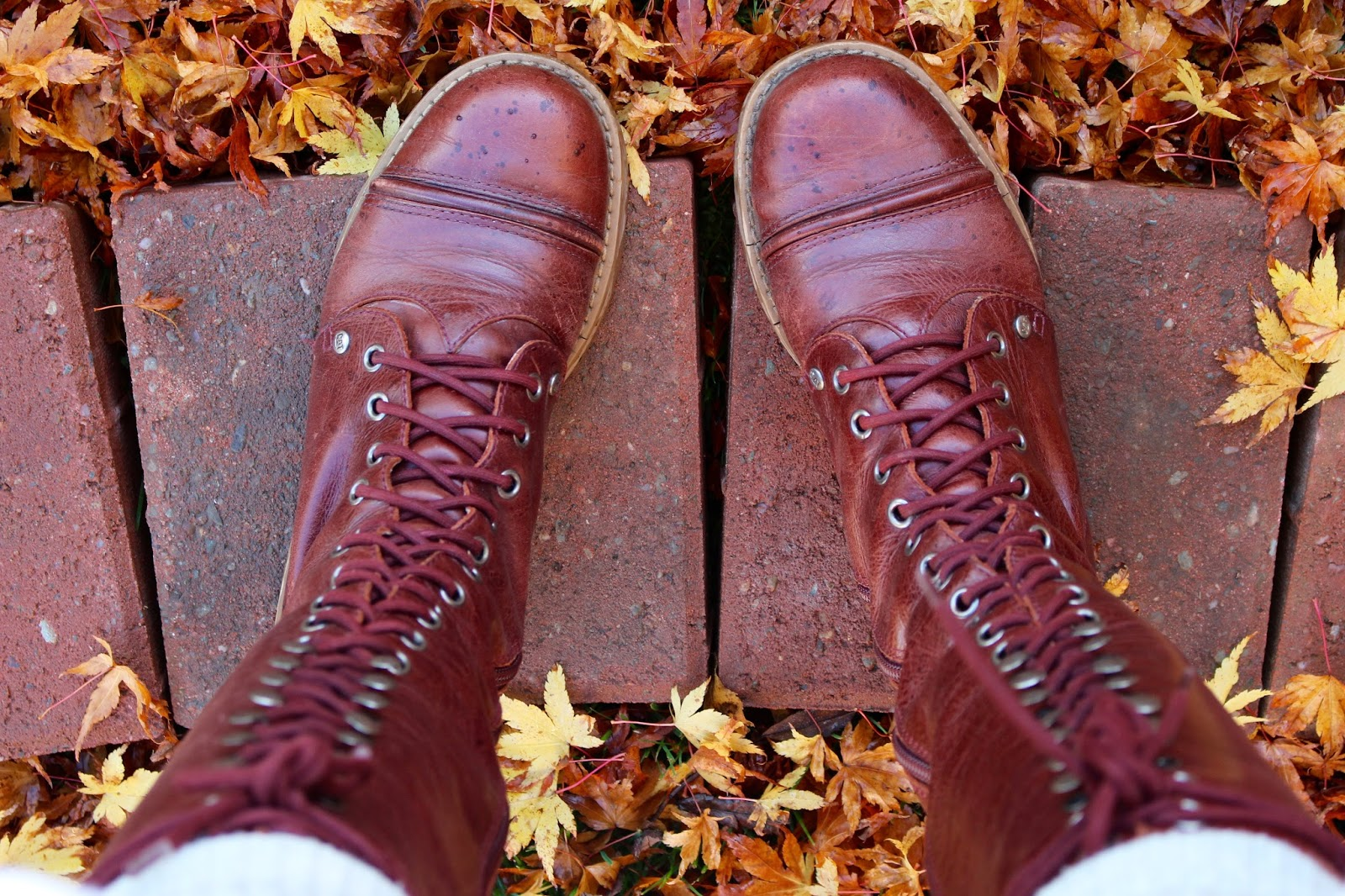 lace up boots | Fake fabulous