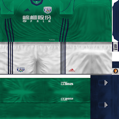 PES 6 Kits West Bromwich Albion Season 2017/2018 by WindowOP Kitmaker