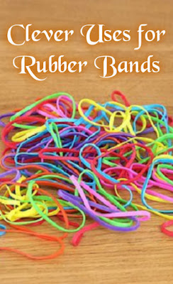 Clever Uses for Rubber Bands