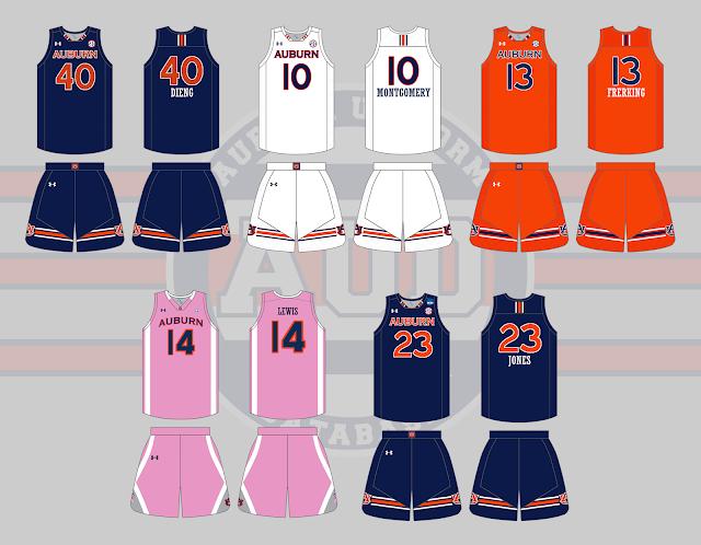 auburn womens basketball uniform 2016 2017