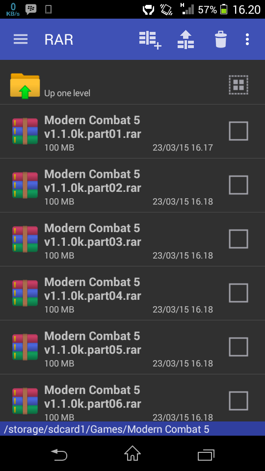 Download WinRAR Pro v5.20 Build 33 APK For Android ...