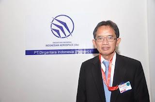 Direktur Utama PT Dirgantara Indonesia  Budi Santoso