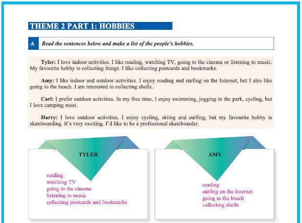 9. Sınıf Yıldırım Yayınları İngilizce A1.2 Çalışma Kitabı 17. Sayfa Cevapları Theme 2 Personality and Character