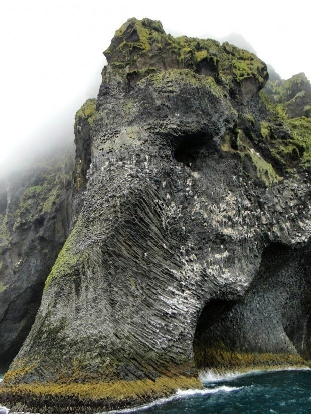 #17. The Elephant Rock in Heimaey, Iceland. - 19 Secret Travel Destinations You Never Knew Existed… Almost Nobody Knows About #17.