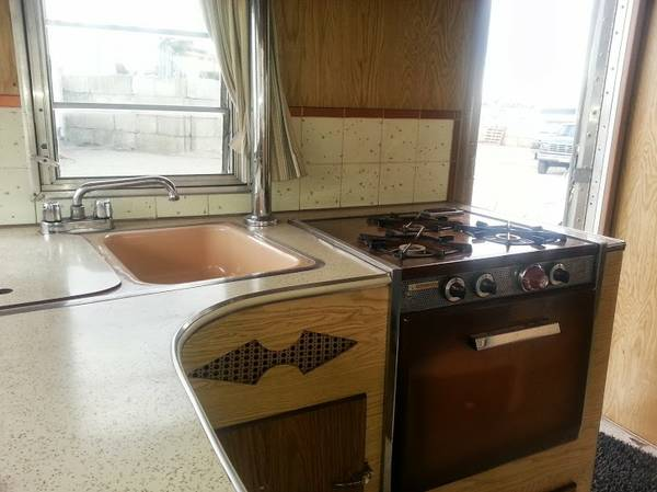 Replacing A Kitchen Sink Rooms To Go Islands Used Rvs 1964 Terry Vintage Travel Trailer For Sale By Owner