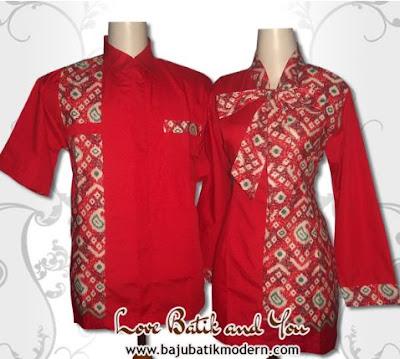 Model Seragam Batik