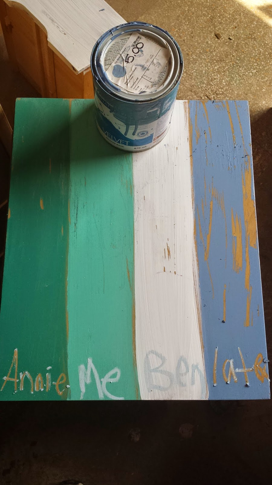 rechic painted furniture: forget the hype - is annie sloan