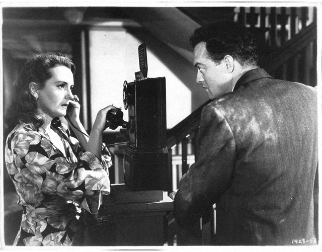Mary Astor and Van Heflin in Act of Violence (1949)