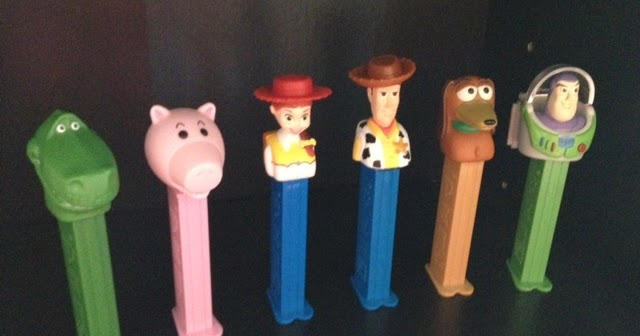 dan the pixar fan  toy story  pez collection