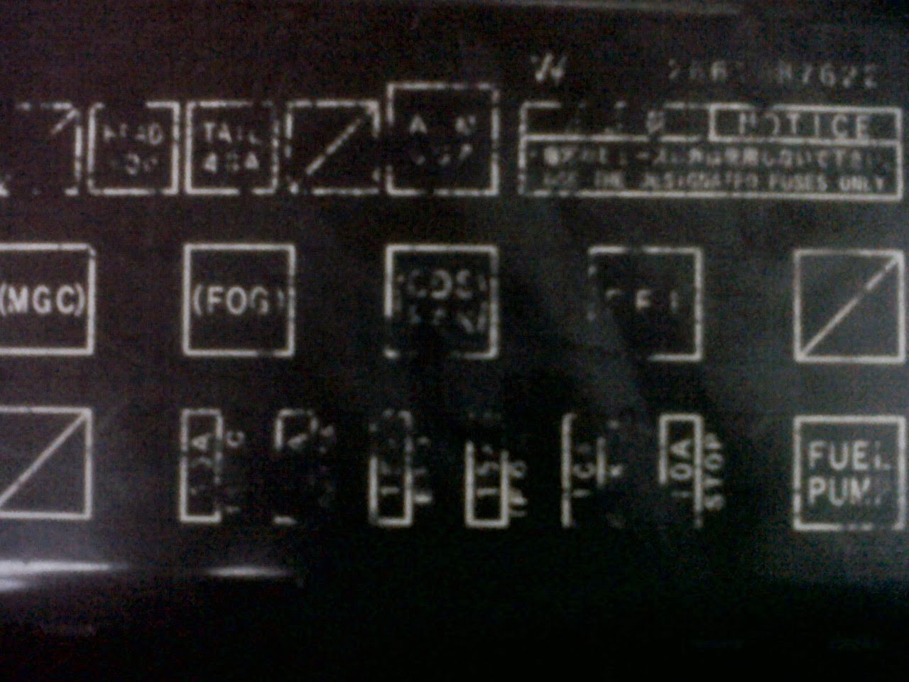 medium resolution of fuse box daihatsu taruna schematic diagramfuse box daihatsu taruna wiring diagram daihatsu wagon r fuse box
