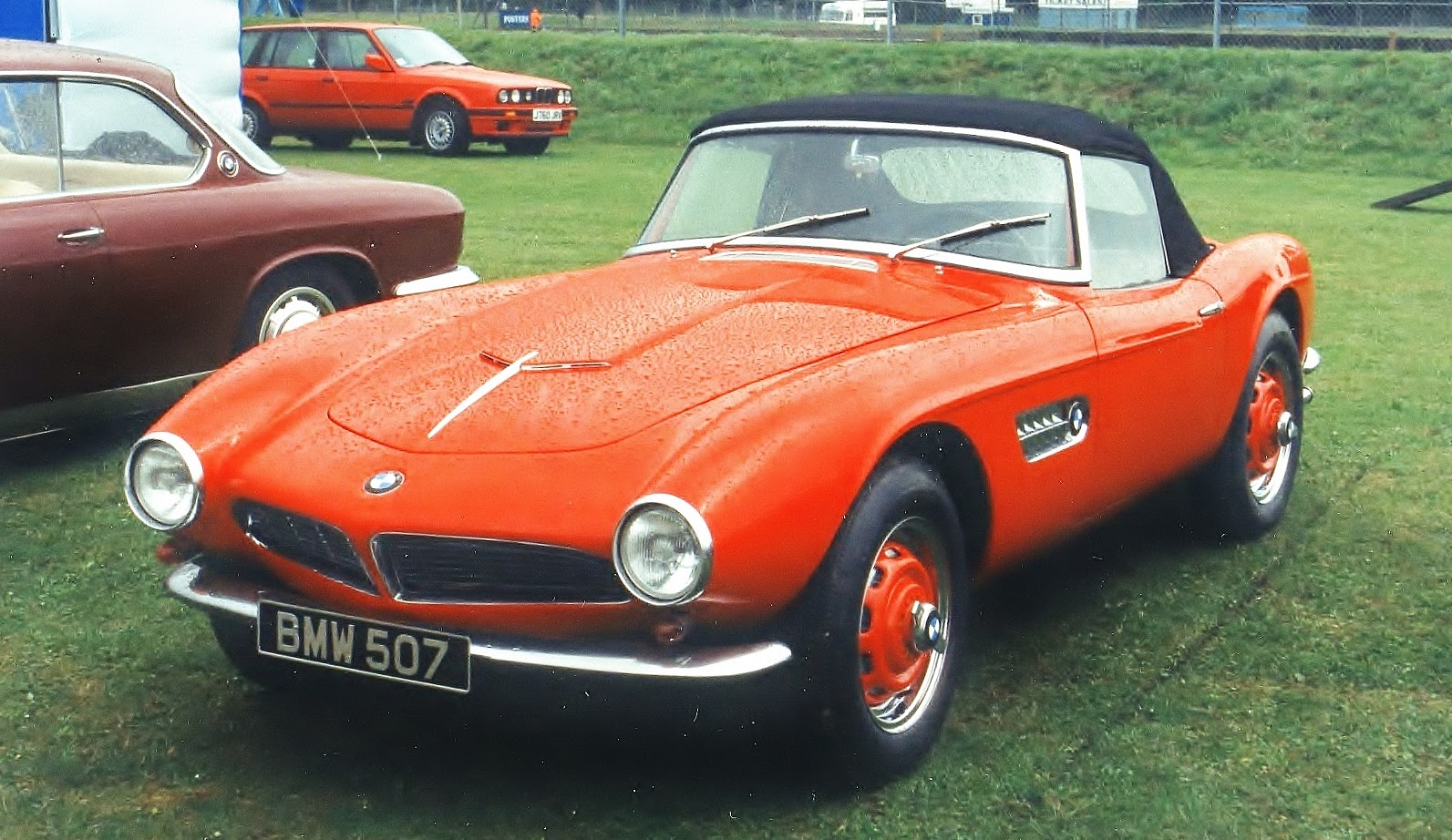 Its A BMW 507 Car With 3168cc V8 Engine And One Of Only 252 Such Cars Produced By Between 1956 1959 When John Surtees Won The 500cc