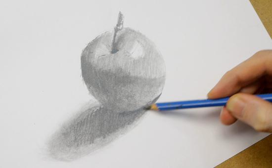 Adım Adım Karakalem Elma Resmi çizimi Karakalem Portre Resim Sipariş