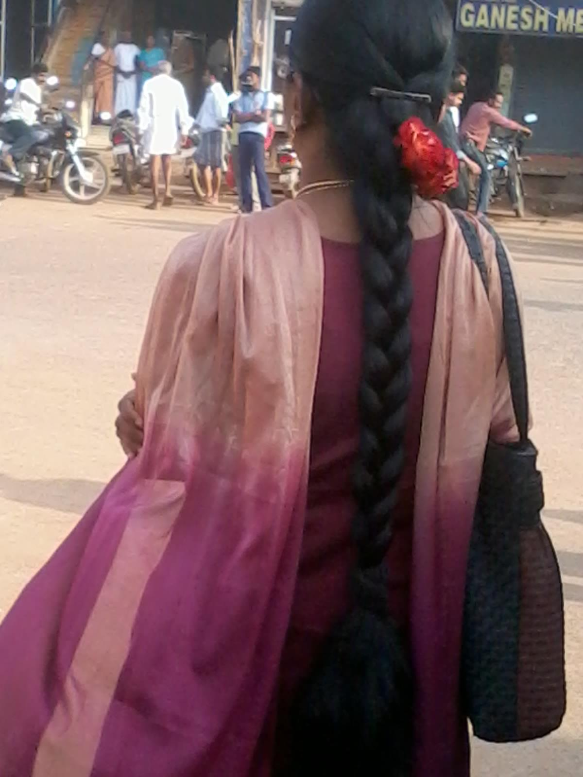 indian women long hair braid the gallery for gt indian ...