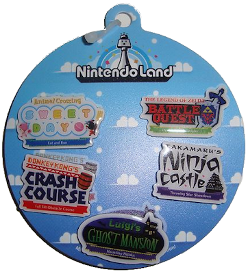 Nintendo Land E3 Pin Set