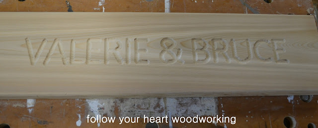 router templates for signs - follow your heart woodworking routing a sign part 3