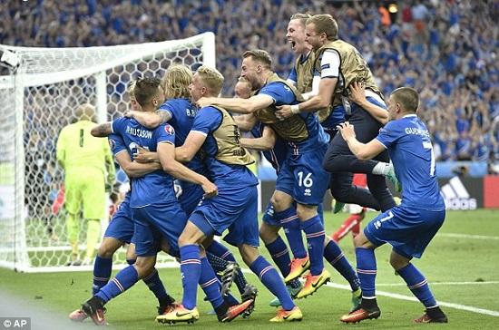 Iceland đang dẫn đầu bảng A