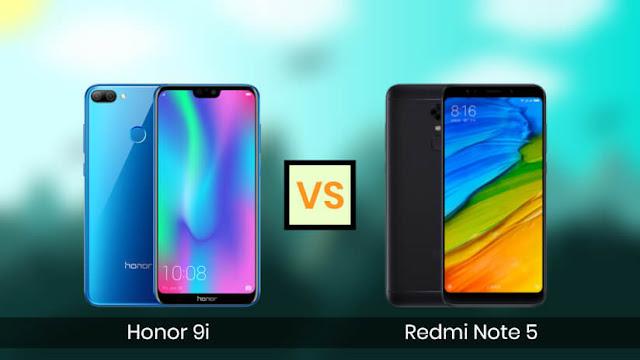 Honor 9i dan Xiaomi Note 5 mana yang bagus